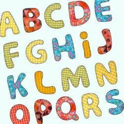 free alphabet letter patterns applique appliq patterns