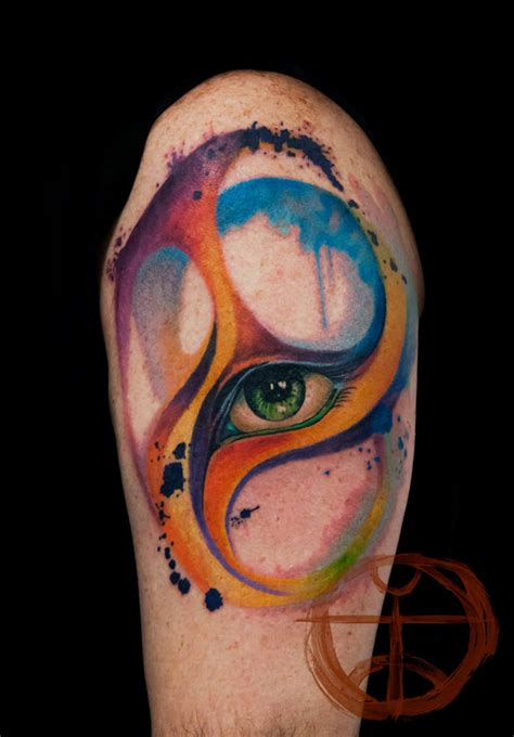 beautiful tattoo 17 beautiful tattoos that look as if painted on the