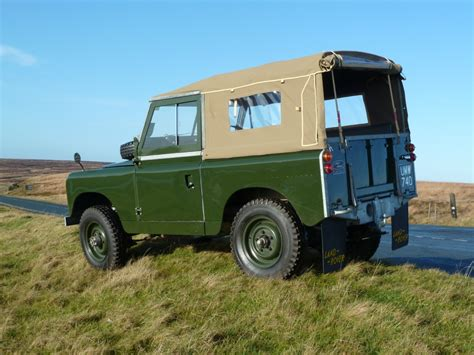 land rover series ii umw 740 1959 series ii soft top land rover centre