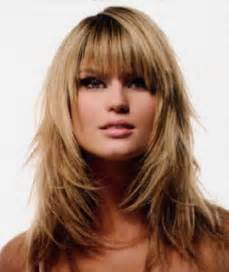 to medium hairstyles with layers around the layered medium hairstyles with bangs