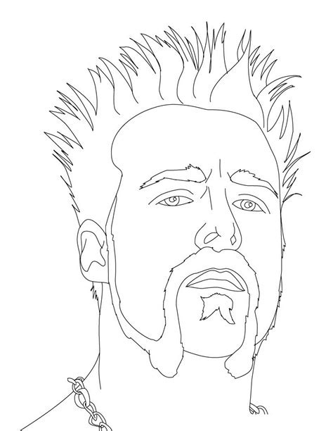 Wrestling Wwe Coloring Pages Free And Printable | free printable wwe coloring pages for kids