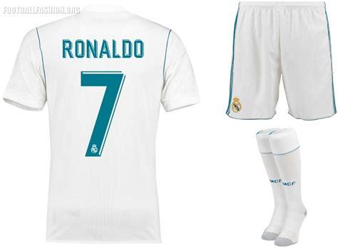 Jersey Real Madrid Away 2017 2018 Set Kit Official Cetak Nama real madrid kits 2016 2017 league soccer 2017 fts15