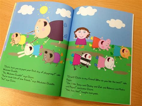 learning to peppa pig books 25 best ideas about peppa pig books on peppa