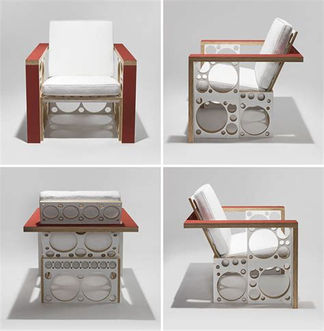 miami rubber upholstery tom sachs debuts deconstructed furniture at design miami