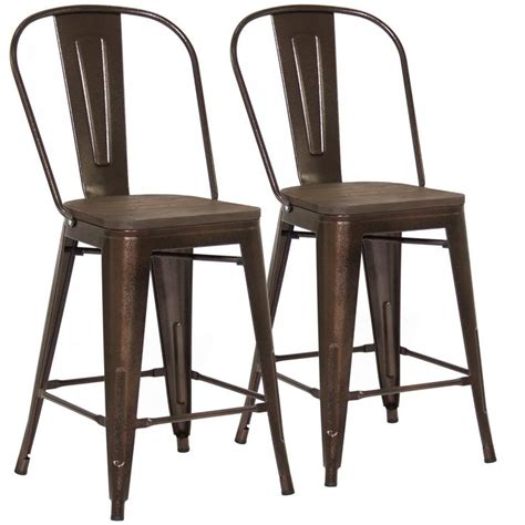 Wood And Metal Bar Stools Counter Height by Best 25 Counter Height Stools Ideas On