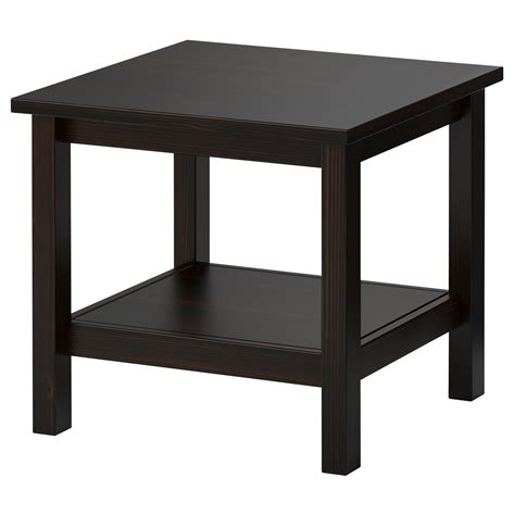 Black End Tables Hemnes Side Table Black Brown Ikea From Ikea