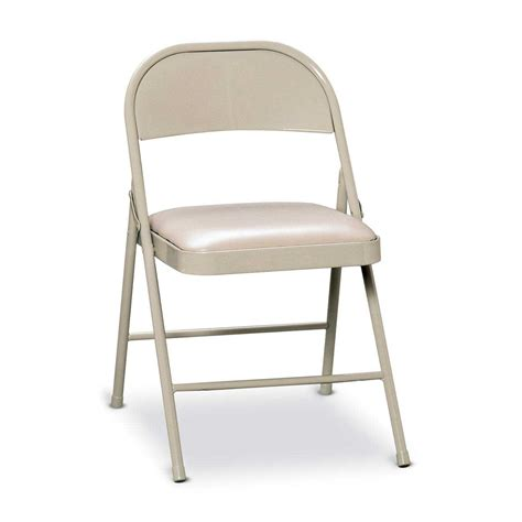 metal folding chairs padded metal folding chairs brace vinyl padded steel