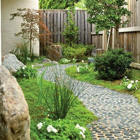Small Pebble Garden Ideas Beautiful Garden Path Designs And Ideas For Yard Landscaping With Pebbles