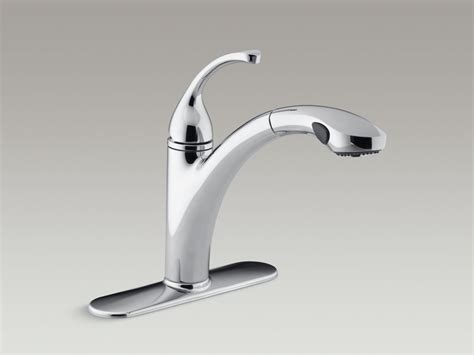 arch single handle pull out sprayer kitchen faucet in