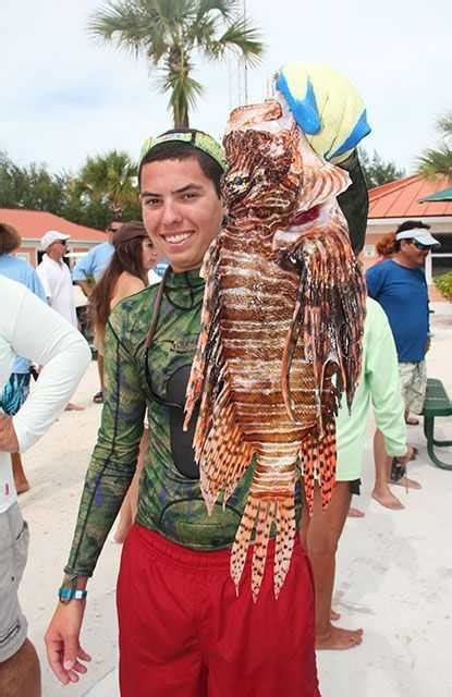 bimini bahamas lionfish bash  benefit spinal injury