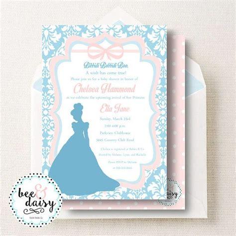Cinderella Baby Shower Invitations by Best 25 Cinderella Invitations Ideas On