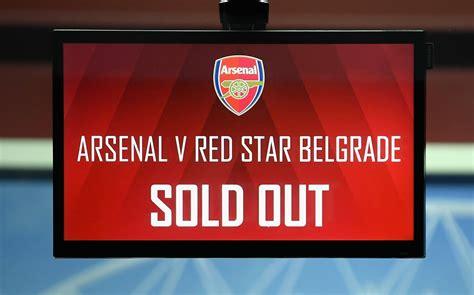 arsenal vs red star arsenal 0 0 red star belgrade uefa europa league live