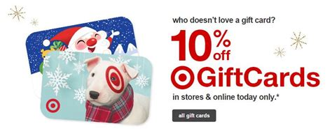 Target Gift Card 10 Off - hot 10 off all target gift cards today only norcal coupon gal