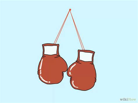 How To Make Boxing Gloves Out Of Paper - drawings of boxing gloves free clip free