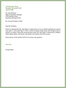 Authorization Letter In Authorization Letter Best Business Template