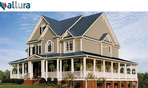 Fiber Cement Siding Colors Allura Fiber Cement Manufactured Siding U S Lumber