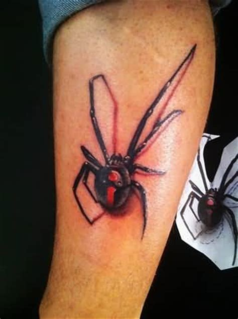 red back spider tattoo designs 3d spider ideas and 3d spider designs page 10