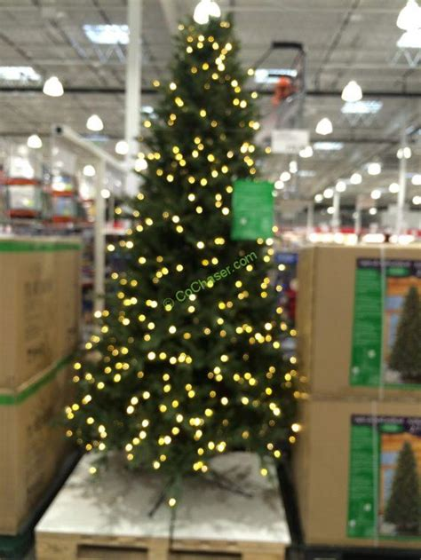 pre lit led ez connect dual color christmas trees at