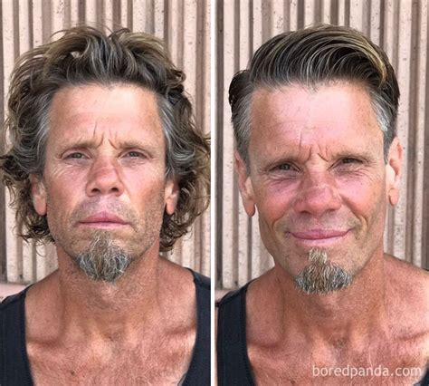 homeless haircuts before and after 10 incredible before after photos that prove a good