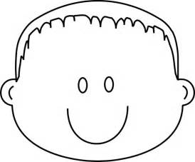 coloring page of boy face gallery