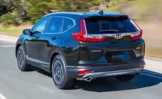 Honda Crv Pricing Not So Many Changes Expected For 2018 Honda Cr V