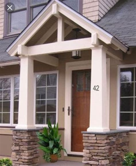 best 25 porticos ideas on portico entry side