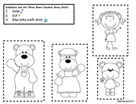 printable coloring pages for goldilocks and the three bears goldilocks and three bears clip art 29
