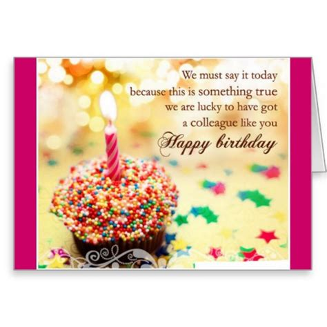 Happy Birthday Quotes For Office Colleagues Birthday Quotes For Colleagues Quotesgram