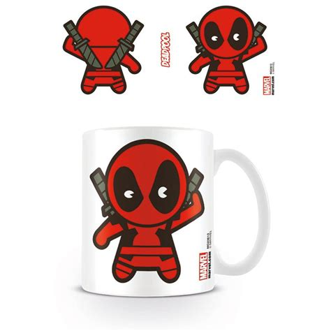 Mug Keramik Ceramic Marvel Original deadpool kawaii mug ceramic cup tea coffee marvel