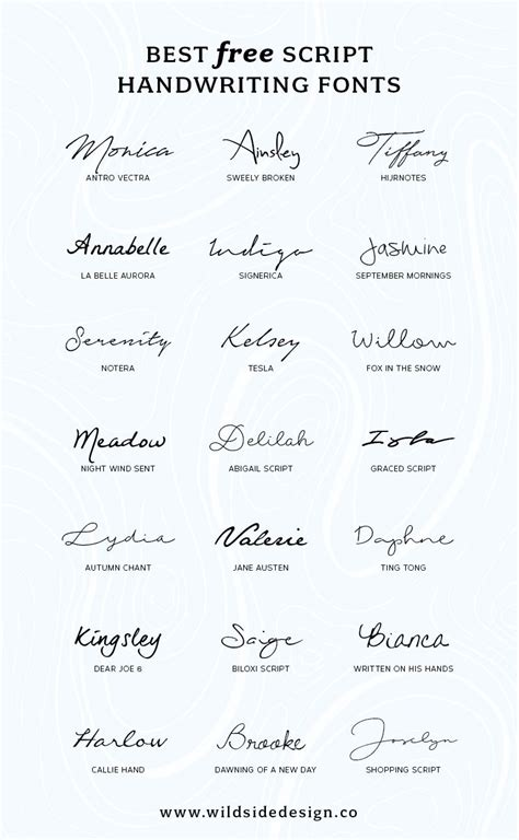tattoo fonts handwritten best free script handwriting fonts handwriting fonts