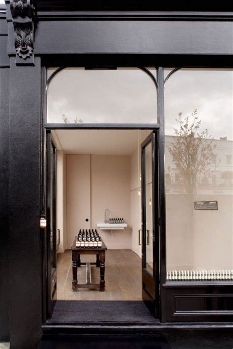 design concrete notting hill aesop store in notting hill shop bistro pinterest