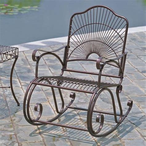 Metal Patio Rocking Chairs Quality Metal Rocking Chairs That Do Not Cost Much