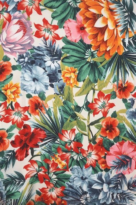 printable tropical flowers floral print dolce far niente pinterest tropical
