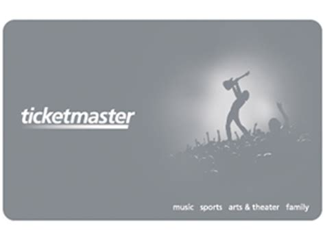How To Use Ticketmaster Gift Card - ticketmaster gift card us dollars tickets dates official ticketmaster site