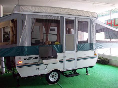 Hybrid Kitchen Used 2000 Skamper Sport Pop Up Camper