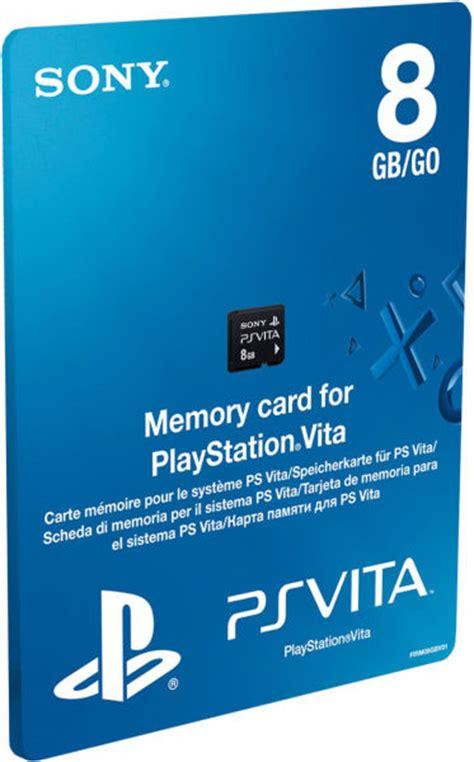 Memory Card 8gb Ps2 ps vita memory card 8gb ps vita accessories zavvi
