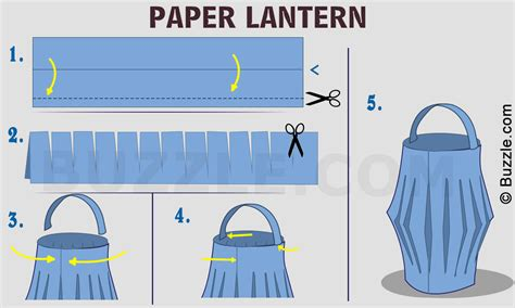 How To Make A Paper Bag Lantern - we tell you how to make beautiful paper lanterns really easily