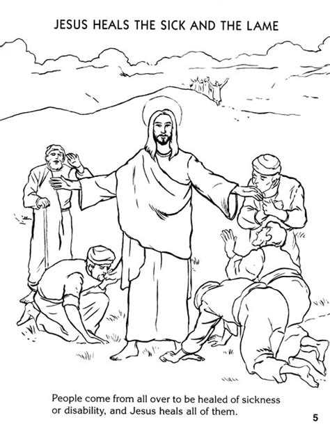 coloring pages of jesus miracles free coloring pages of jesus miracles