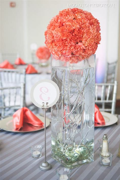 coral and silver wedding project royale
