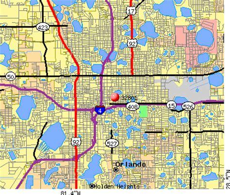 zip code map orlando 32801 zip code orlando florida profile homes