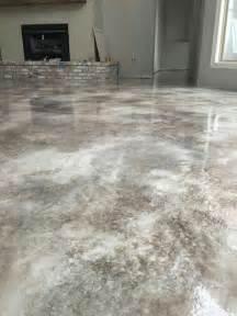 stained concrete floor colors best 25 concrete floors ideas on
