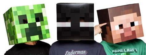 printable enderman mask minecraft costume ideas
