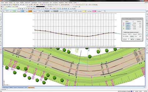 longitudinal section surveying existing roadway rehabilitation software reprofiling