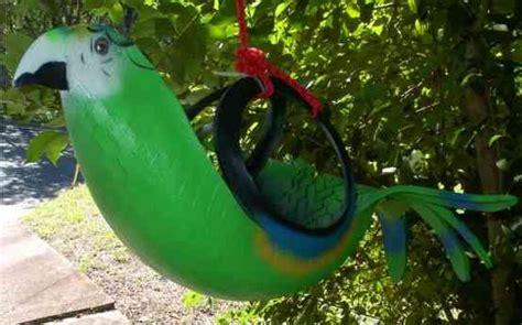 Tire Bird Planter by Tropical Bird Tire Flower Pots Gardening
