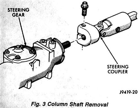 Ram Steering Gear Adjustments