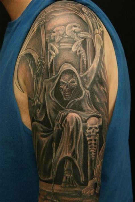 new school reaper tattoo grim reaper tattoos page 3