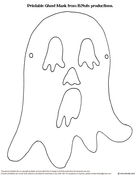 best photos of halloween face mask template halloween