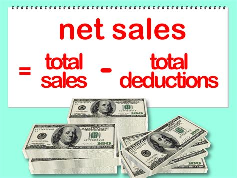 How To Find Sales How To Calculate Net Sales 8 Steps With Pictures Wikihow