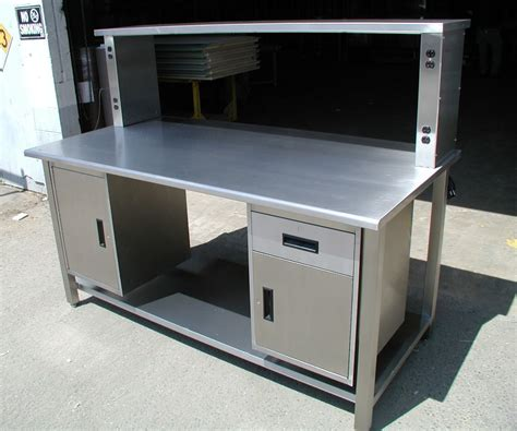 steel workshop bench steel workshop bench using stainless steel work bench