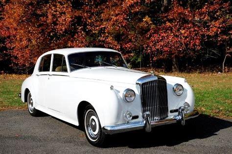bentley white 4 doors 1962 rolls royce bentley s2 white 4 door left side
